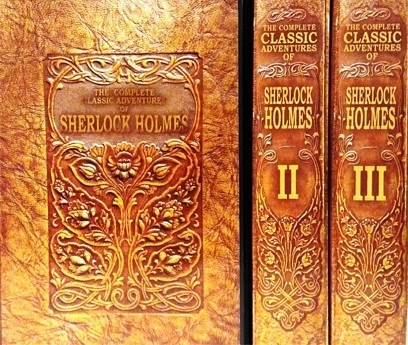THE COMPLETE CLASSIC ADVENTURES OF SHERLOCK HOLMES