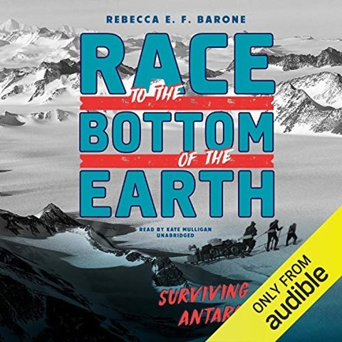 RACE TO THE BOTTOM OF THE EARTH